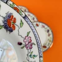 Sutherland China | Side Tea Plate x 4 | Hand Painted | 1930s